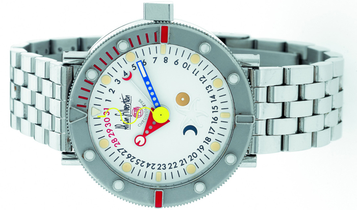 Часы Alain Silberstein Marine Perpetual Automatic