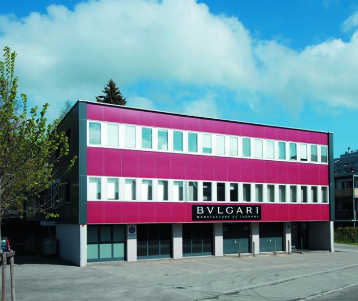 Фабрика циферблатов Bulgari