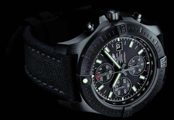 Breitling Colt Blacksteel chronograph Pеплики
