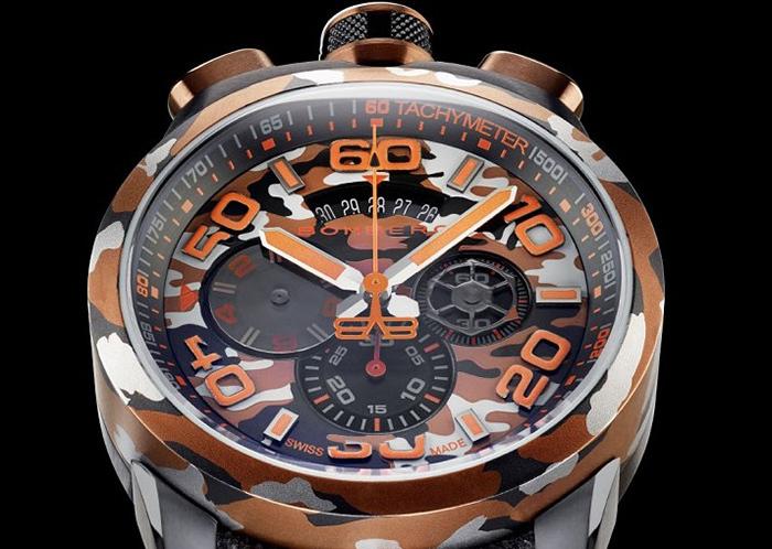 Часы Bomberg Bolt-68 Camo Sahara