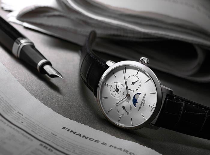 Часы Frederique Constant Slimline Manufacture Perpetual Calendar