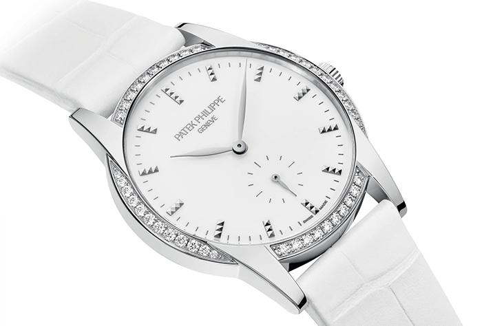 Часы Patek Philippe Calatrava Timeless White