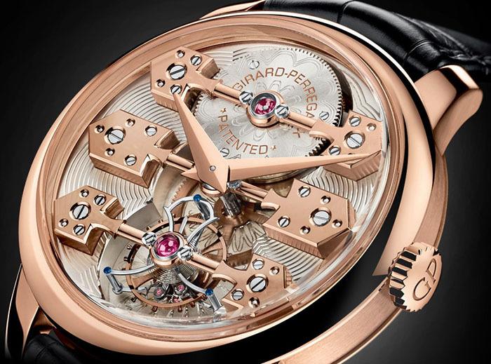 Часы Girard-Perregaux La Esmeralda Tourbillon