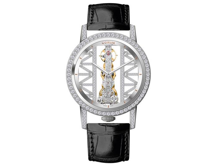 Часы Corum Golden Bridge Round