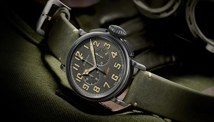 Часы Zenith Heritage Pilot Cafe Racer