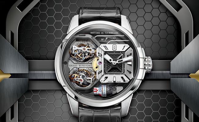 Часы Harry Winston Histoire de Tourbillon 7