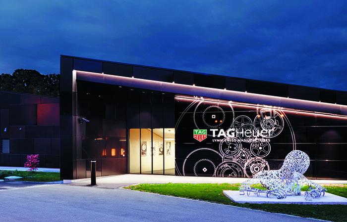 Высокотехнологичная фабрика TAG Heuer в Шевене