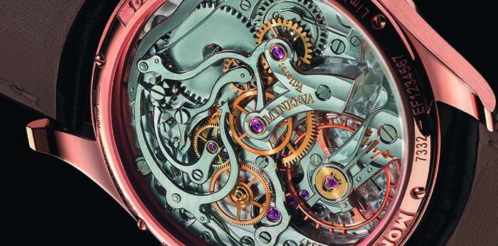 Часы Montblanc 1858 Chronograph Tachymeter