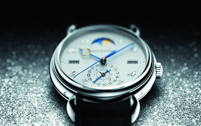 Urban Jurgensen Reference 3 Perpetual Calendar Moonphase Power Reserve в платиновом корпусе