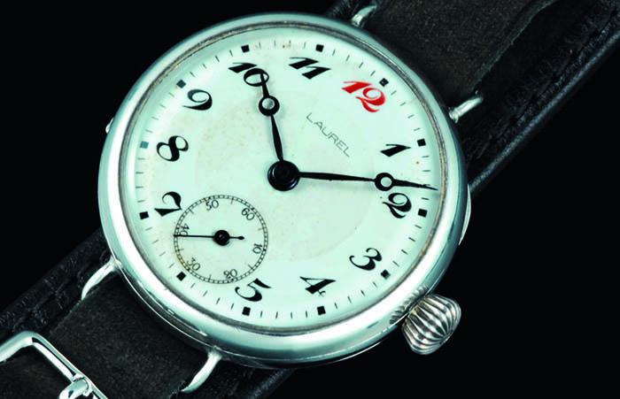 Первые японские наручные часы Laurel, выпущенные в 1913 году