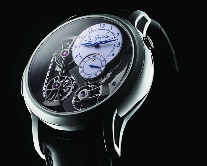 Часы Romain Gauthier Logical One Titanium