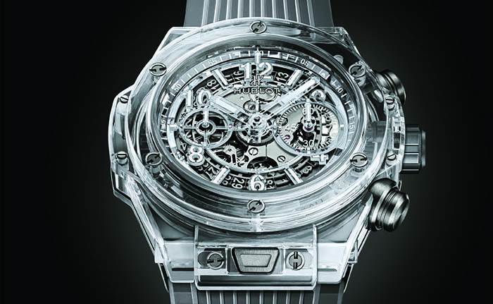 Часы Hublot Big Bang Unico Sapphire