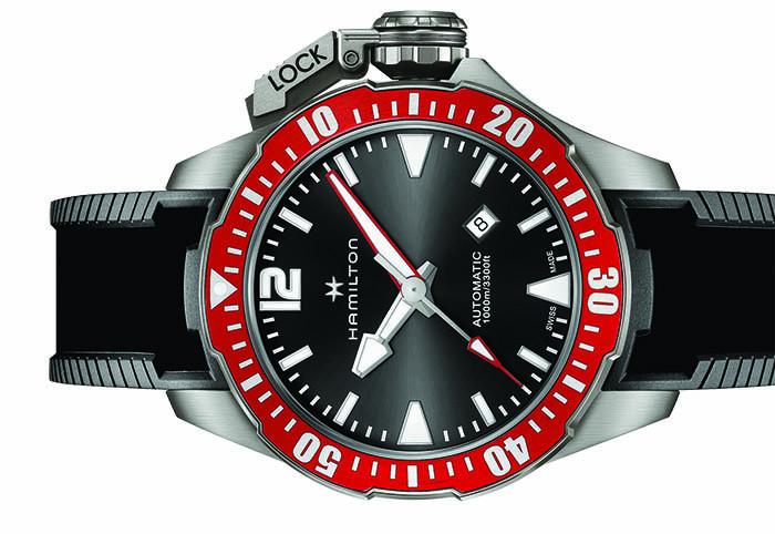 Часы Hamilton Khaki Navy Frogman