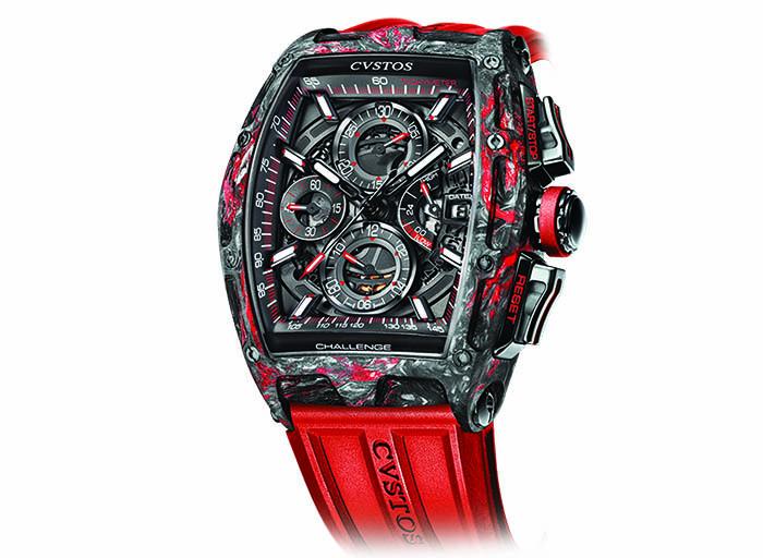 Часы Cvstos Challenge Chrono II Carbon Honolulu
