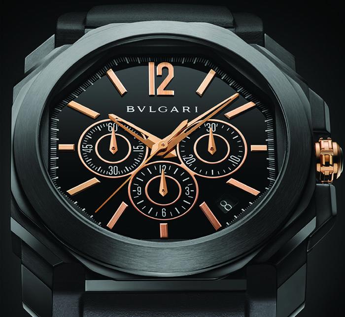 Часы Bulgari Octo Velocissimo Ultranero