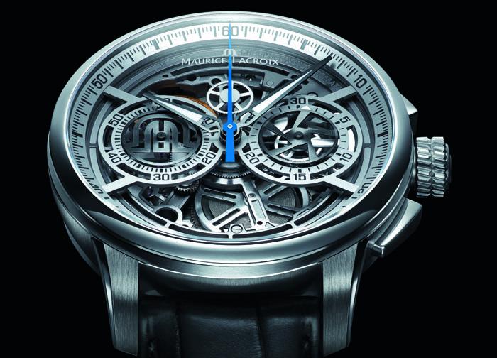 Часы Masterpiece Chronograph Skeleton