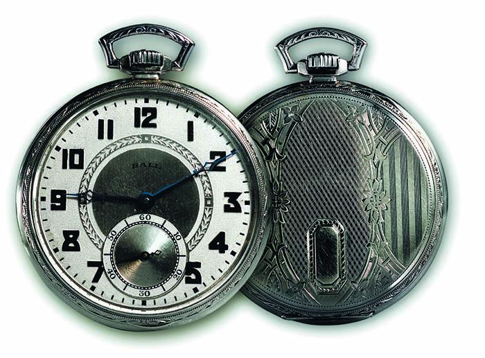 Ball Watch Co, железнодорожный хронометр, 1890-е гг