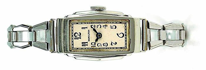 Hamilton, дамские часы на браслете, 1930 г