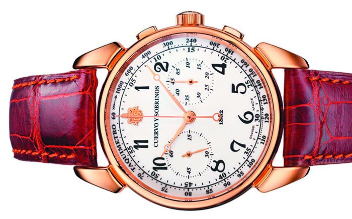 Часы Historiador Cronografo Landeron