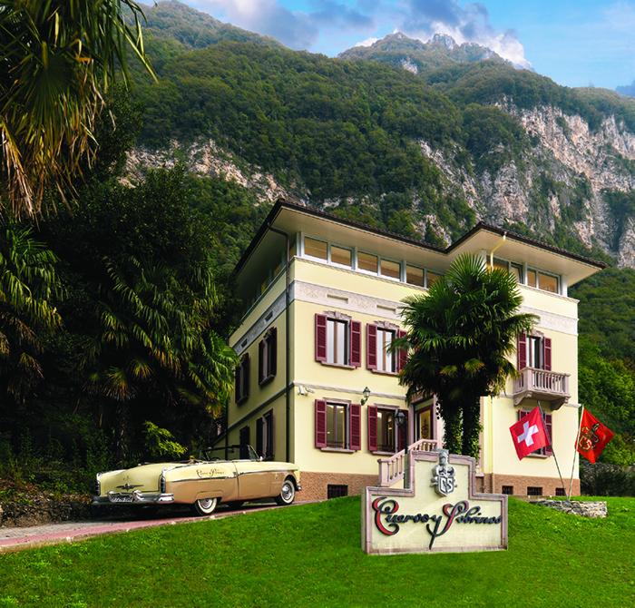 Вилла в швейцарском Ла-Шо-де-Фоне, где расположены офис и фабрика Cuervo y Sobrinos, носит имя La Casa