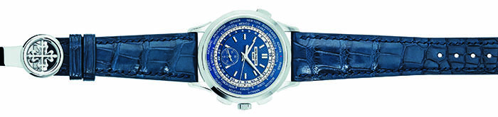 Patek Philippe World Time Chronograph Ref. 5930 с автоматическим калибром хронографа