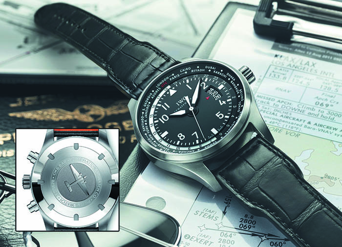 IWC Pilot's Watch Timezoner Chronograph с автоматическим калибром 89760