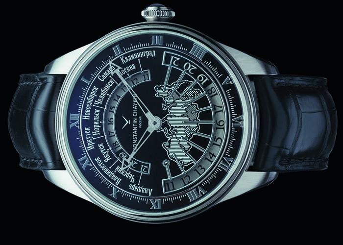 Konstantin Chaykin Russian Time с калибром К01-7 с ручным заводом