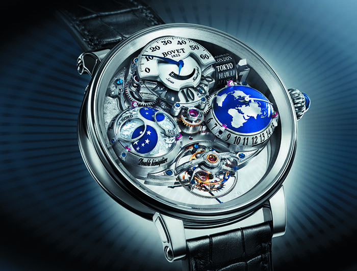 Bovet Recital 18 — The Shooting Star с калибром 17DM01-HU