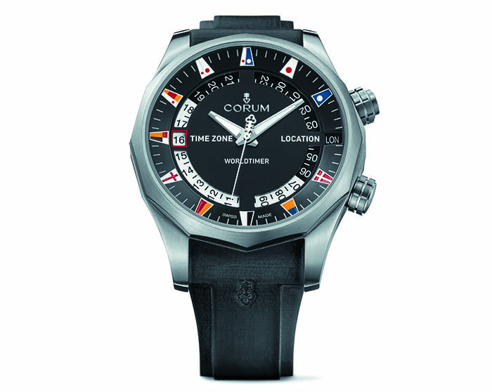 Часы Corum Admiral's Cup Legend 47 Worldtimer