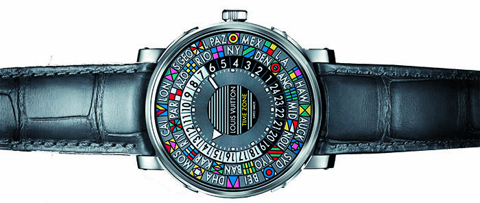 Часы Louis Vuitton Escale Time Zone