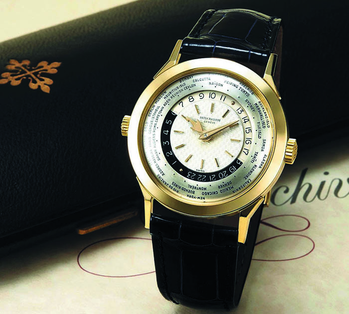 Часы Patek Philippe World Time Wristwatch