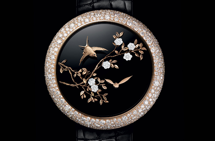 Часы Chanel Mademoiselle Prive Coromandel Flying Birds