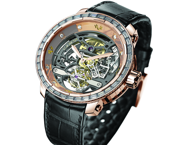 Часы DeWitt Twenty-8-Eight High Jewellery Skeleton Tourbillon