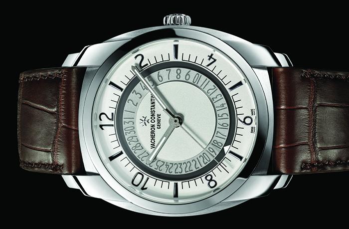 Часы Vacheron Constantin Quai de L'Ile Date Self-Winding Steel