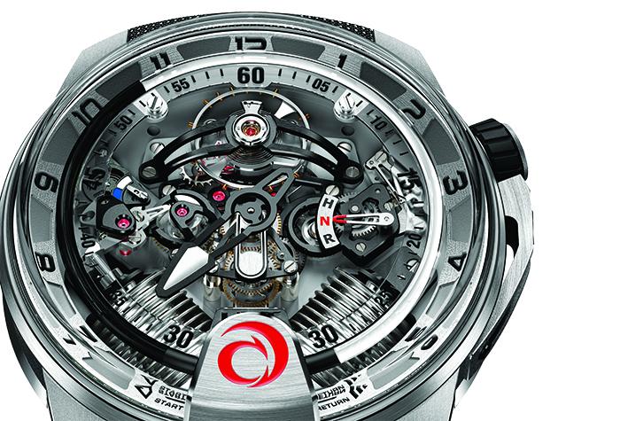 Часы HYT H2-Alinghi