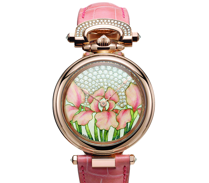 Часы Bovet Amadeo Fleurier 39 Orange Iris by Ilgiz F.