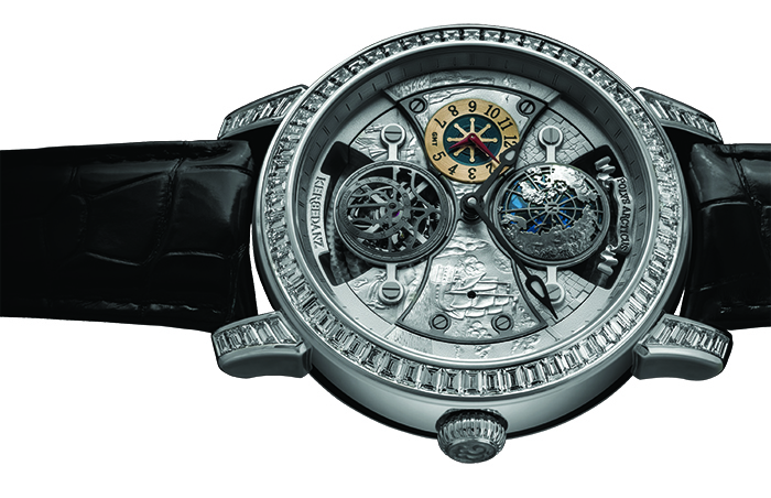 Часы Kerbedanz Polvs Arcticus Double Tourbillon GMT