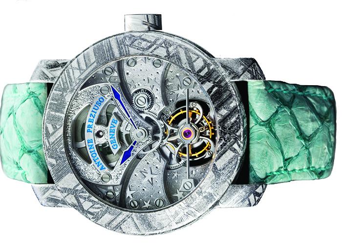 Часы Antoine Preziuso Stella Polare Tourbillon Muonionalusta