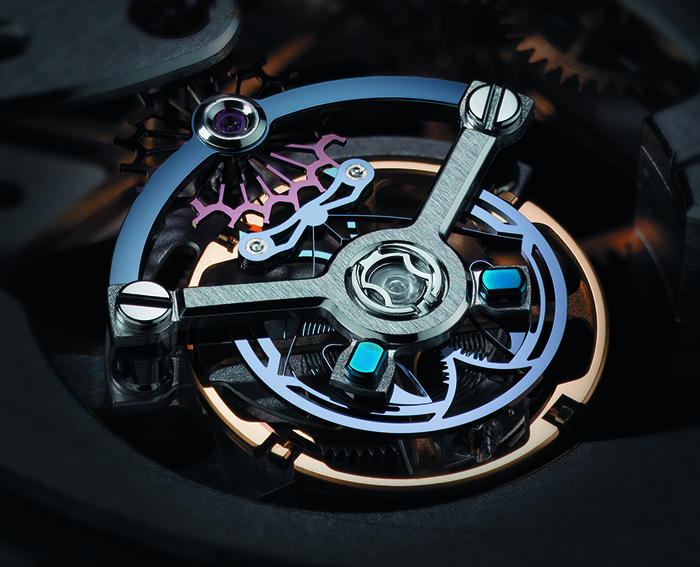 Ulysse Anchor Tourbillon с мануфактурным калибром UN-178