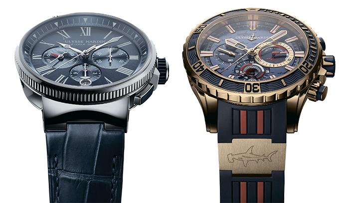 Часы Ulysse Nardin Marine Chronograph