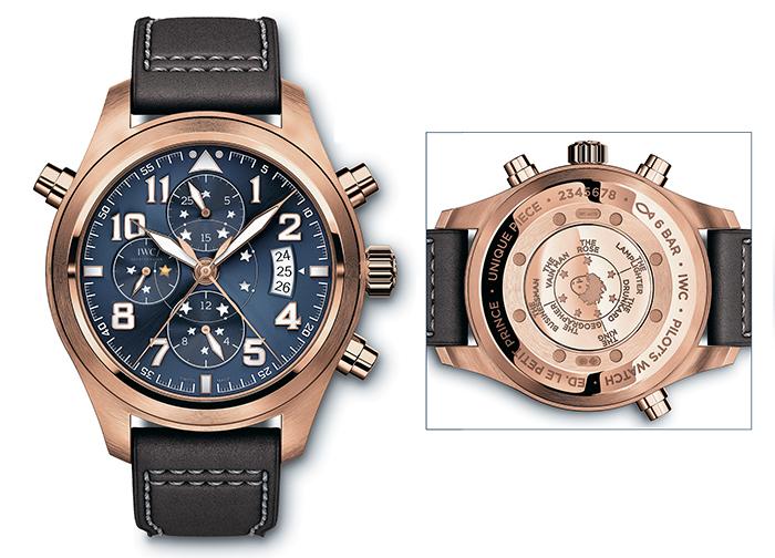 Часы Pilot's Watch Double Chronograph Edition «Le Petit Prince»