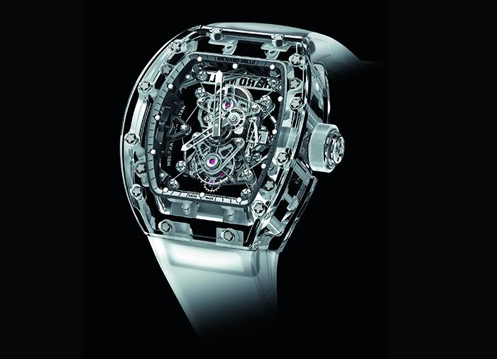 Часы Richard Mille RM 56-02 Tourbillon Sapphire