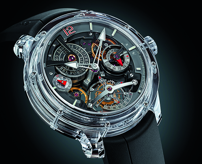 Greubel Forsey Double Tourbillon 30-Degrees Technique Sapphire в корпусе 49,9 мм