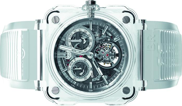 Часы Bell&Ross BR X1 Tourbillon Chronograph Sapphire