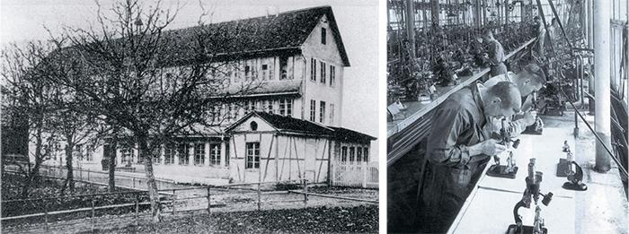 Фабрика Eterna в Гренхене, 1856 г.