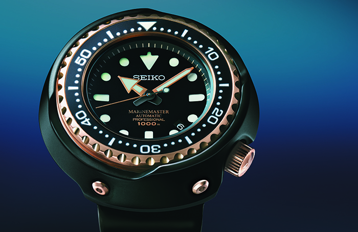 Часы Seiko Marinemaster 1000m Emperor Tuna Rose Gold