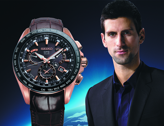 Часы Seiko Astron Novak Djokovic 2015 Limited Edition