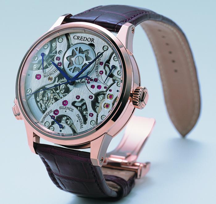Часы Credor Spring Drive Sonnerie