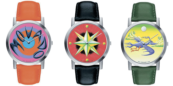 Movado Time, Starring the Star, Ontime and Time Flies