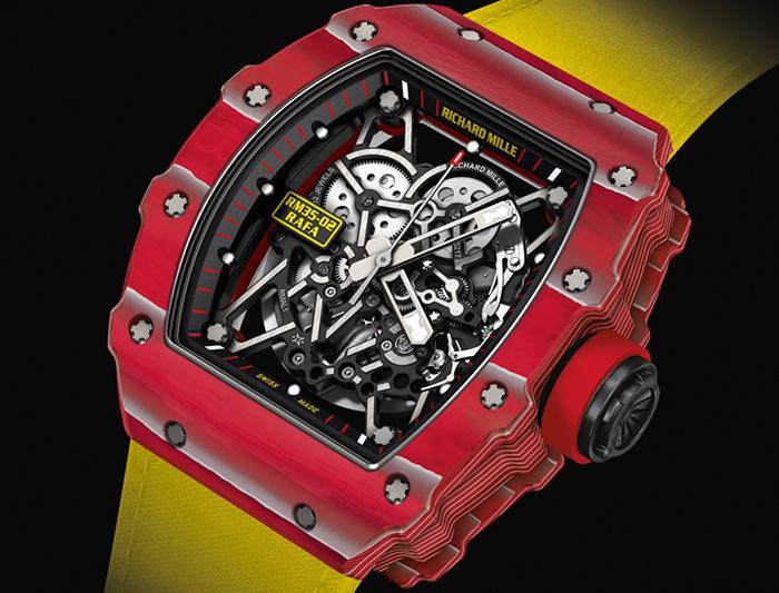 Часы Richard Mille RM 35-02 Rafael Nadal